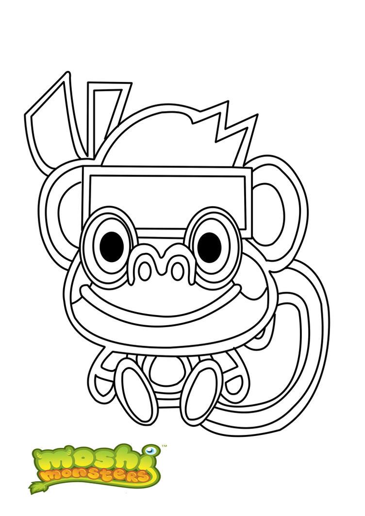 Groß Baby Moshi Monster Malvorlagen Bilder - Entry Level Resume ...