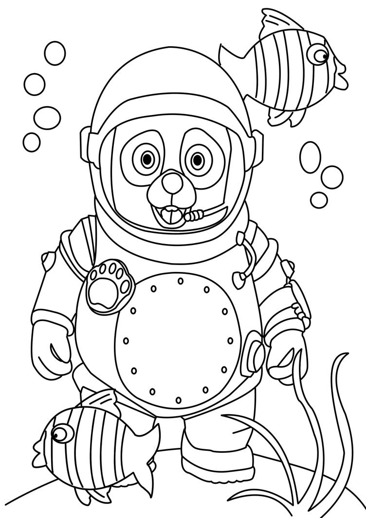 oso coloring pages special agent oso free colouring pages