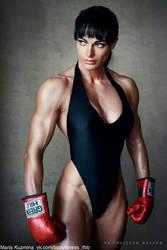 Girl Boxing by Nem70