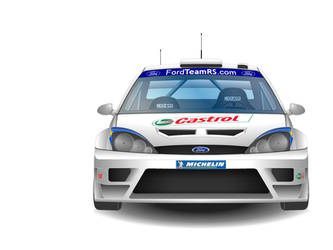 Ford Focus WRC 2003 by j-s-n