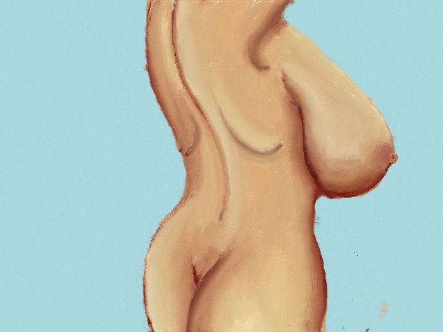 side boob by davidartistic