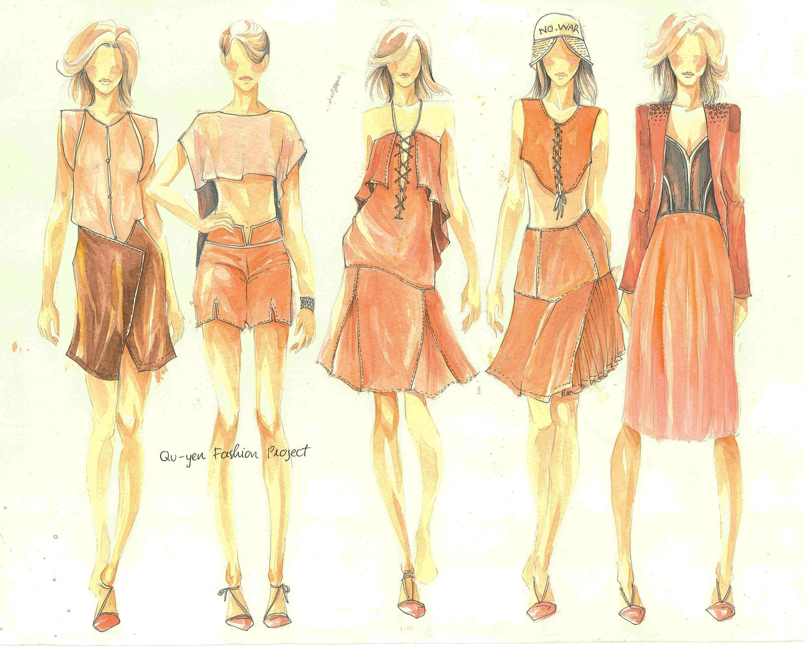 Glamorous Fashion Sketches and Illustrations: Best 50 65