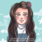little girl commission