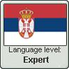 Serbian Language Level:  Expert by gaaradesert6