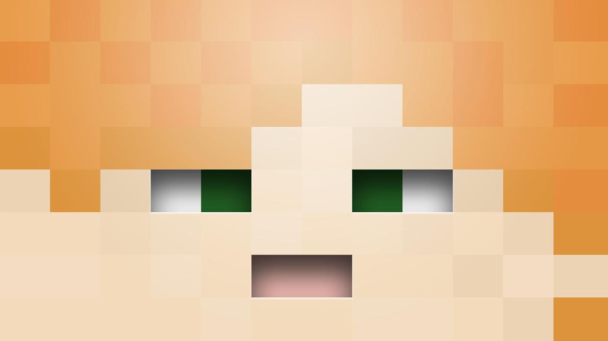 Good Wallpaper Minecraft Square - minecraft_wallpaper__alex_by_halo4guest-d8axabq  2018_96381.jpg