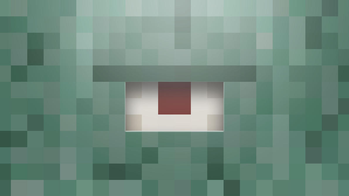 Top Wallpaper Minecraft Square - minecraft_wallpaper__guardian_by_halo4guest-d8axach  Image_83641.jpg