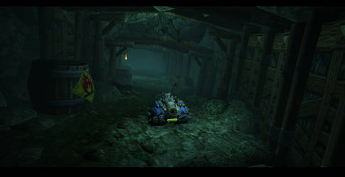 Warcraft 3 Custom Map (CDR) screen