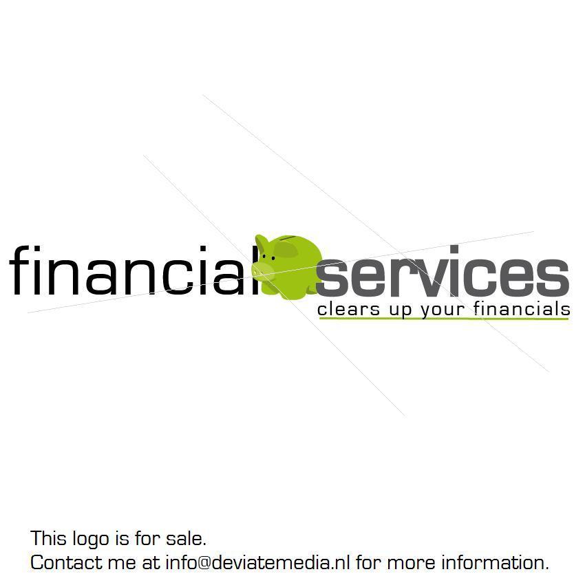 Financial Services Logo -sale- by Deviate-Art on DeviantArt