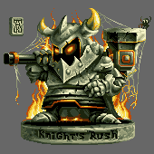 Knight`s Rush Barb by andylittle