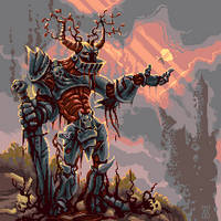 Knight for pixeldailies by andylittle