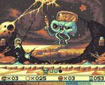 SuperMario UFO Land - MoonDrom Boss!
