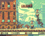Super Mario UFO Land - 'MiB Zone' mockup
