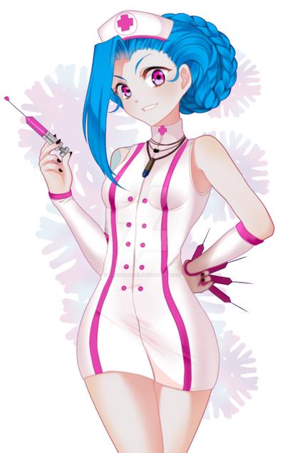 Nurse Jinx by KrissyPootel