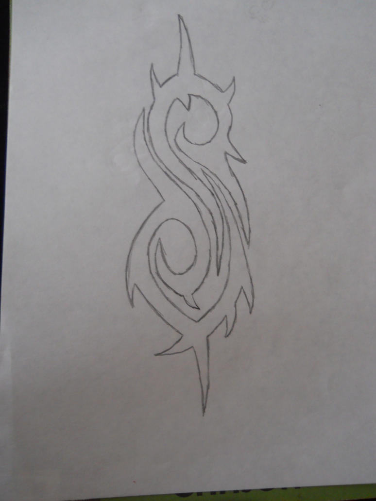 slipknot symbol how to draw