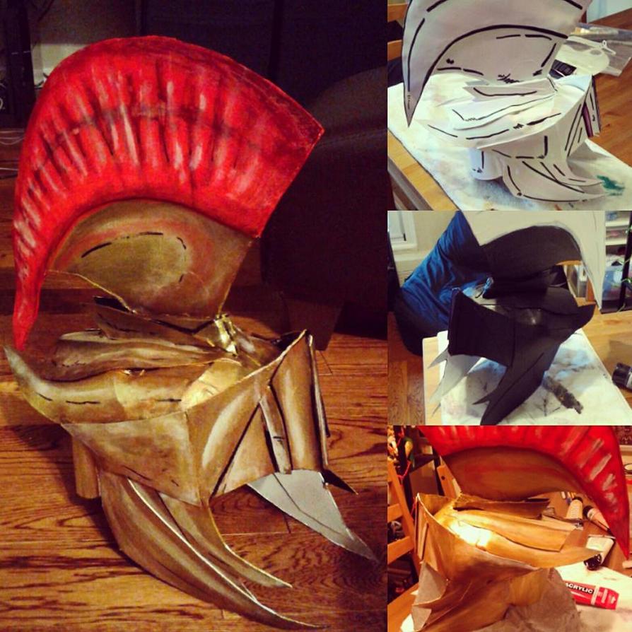 Spartan Helmet by Dracolord