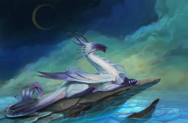 Water dragon by gaallo