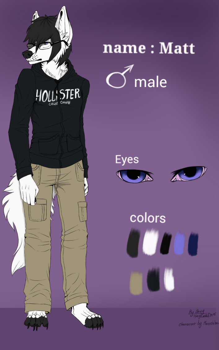Matt reference (commission for Mattehboi ) by Gorsha070