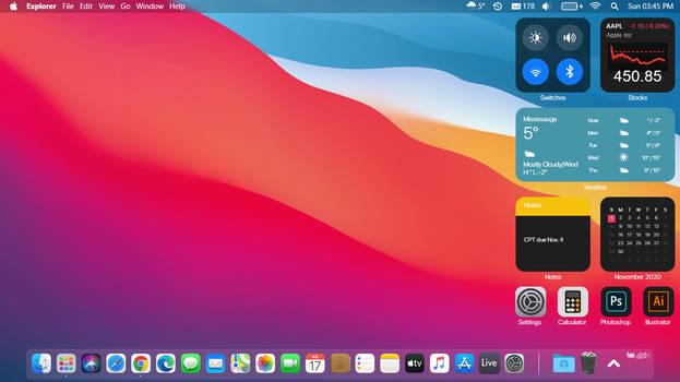 macOS Big Sur for Windows 10