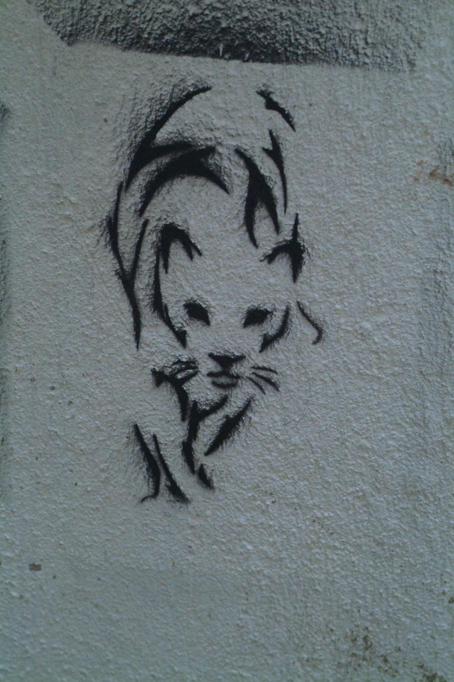 kedi stencil