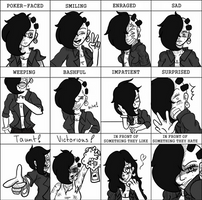 Expression Meme by KayceInk