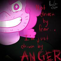 Steven's anger