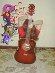 word and guitar