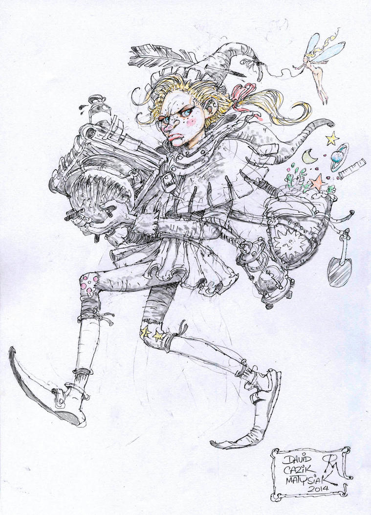 Greta ..Wizards Apprentice by fenice8