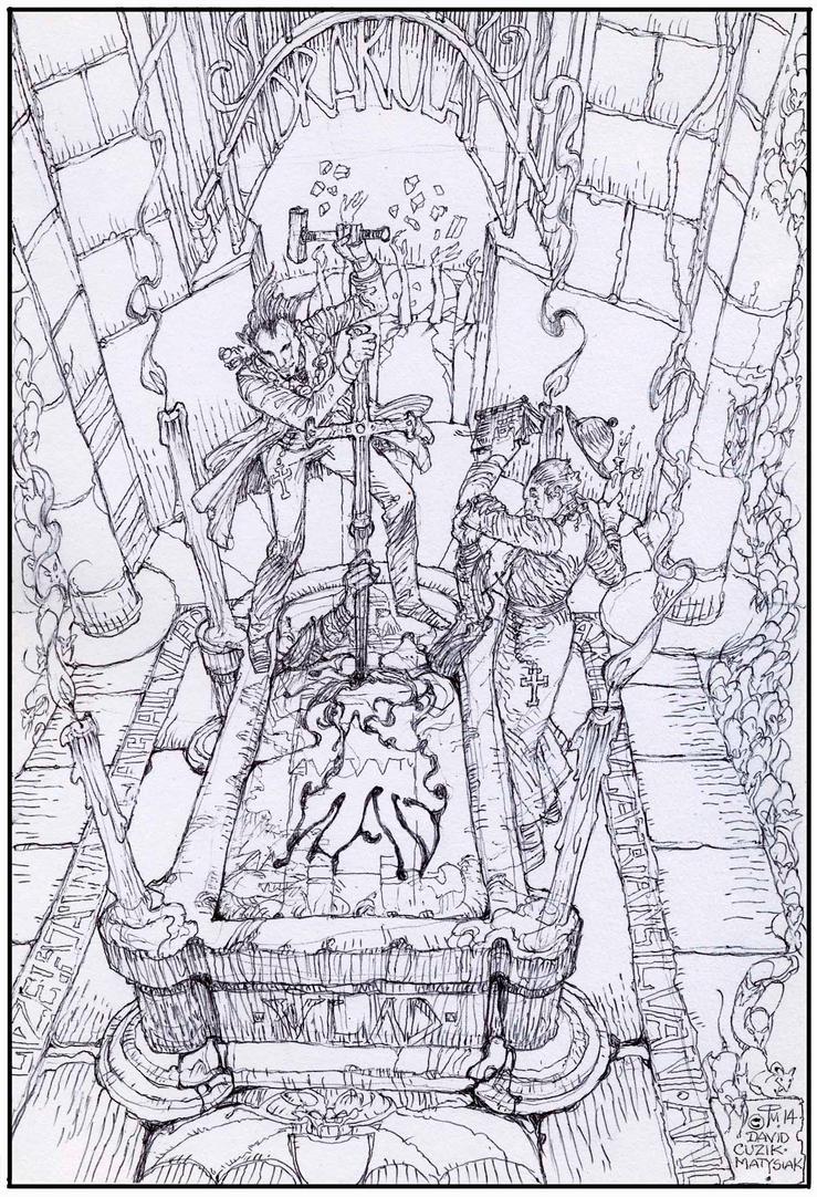 Drakula Must Die ! by fenice8