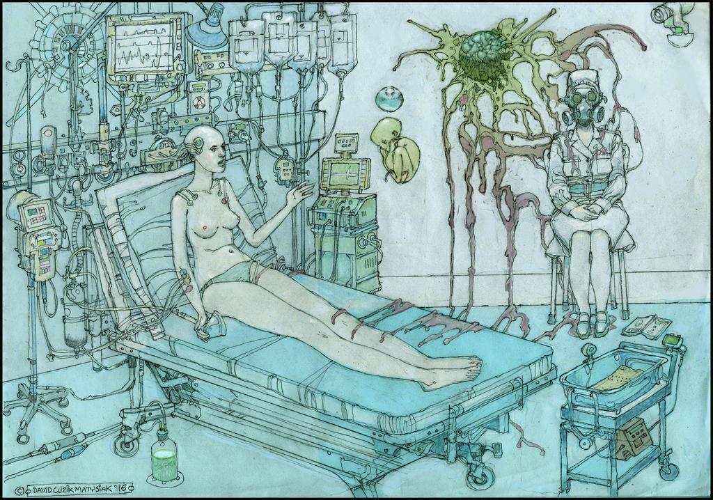 Alien Birth by fenice8