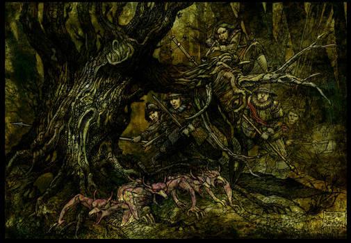 Guthlac Purges The Demon Nest.