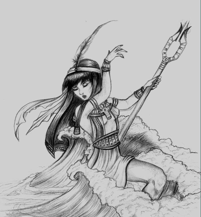 Ma'at, Goddess of Balance by EmanuellaKozas