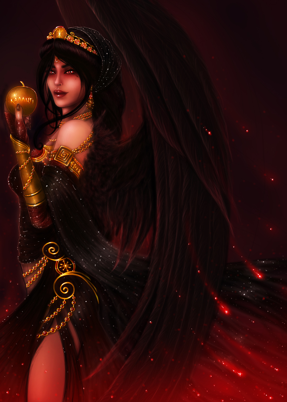 Hellenic Mythology - Eris, Goddess of Discord by EmanuellaKozas