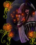 Halloween - Pumpkin Faery Potrait Portals
