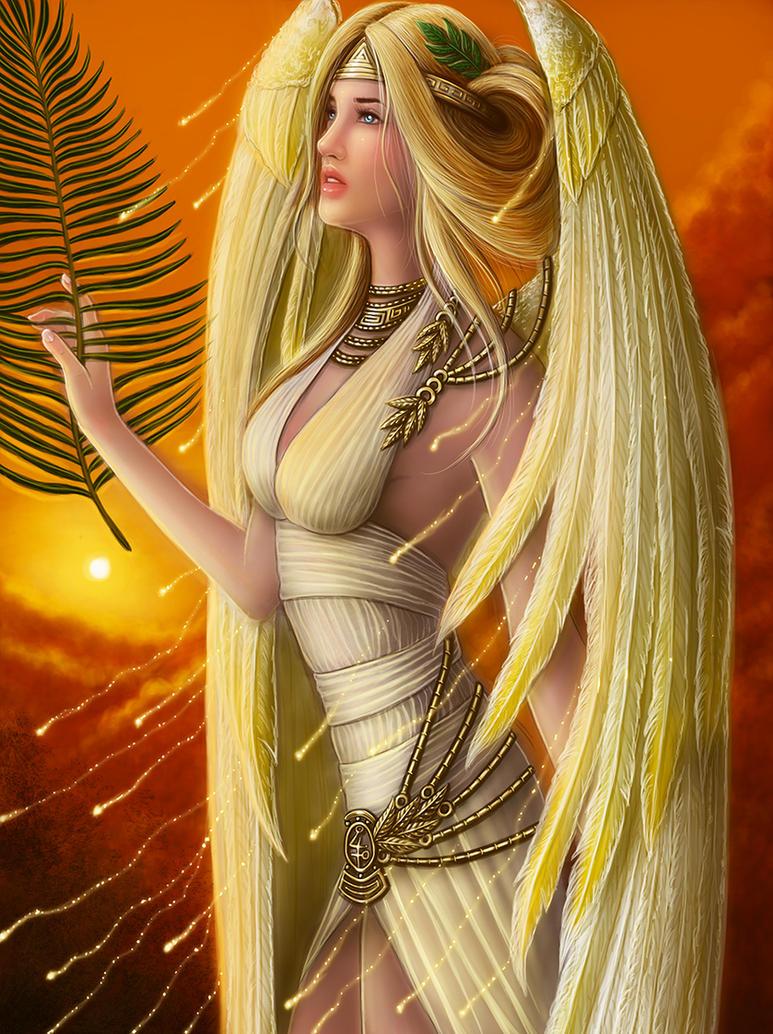 Di algo del personaje anterior n.n - Página 2 Hellenic_mythology___nike__goddess_of_victory_by_emanuellakozas-d8xul2e