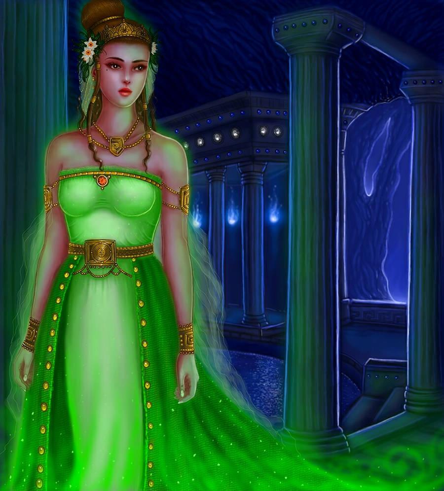 Hellenic Mythology - Persephone, Goddess of Spring by EmanuellaKozas