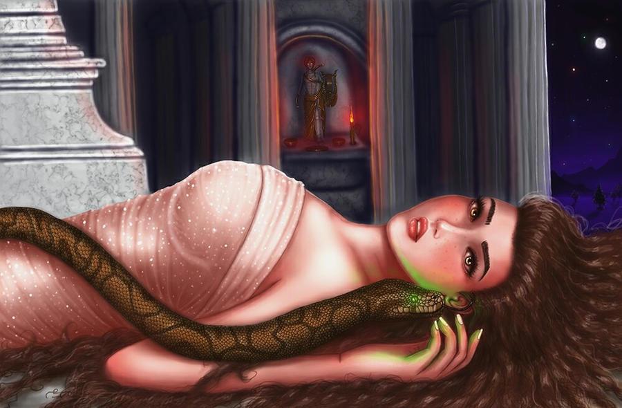 Hellenic Mythology - Cassandra by EmanuellaKozas
