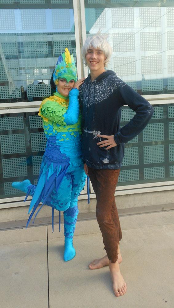 Toothiana and Jack Frost by ilovezsora