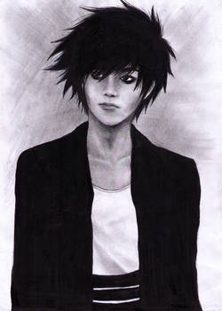 L Lawliet In Real Life [Death Note]