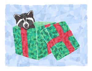 raccoon gift v.2