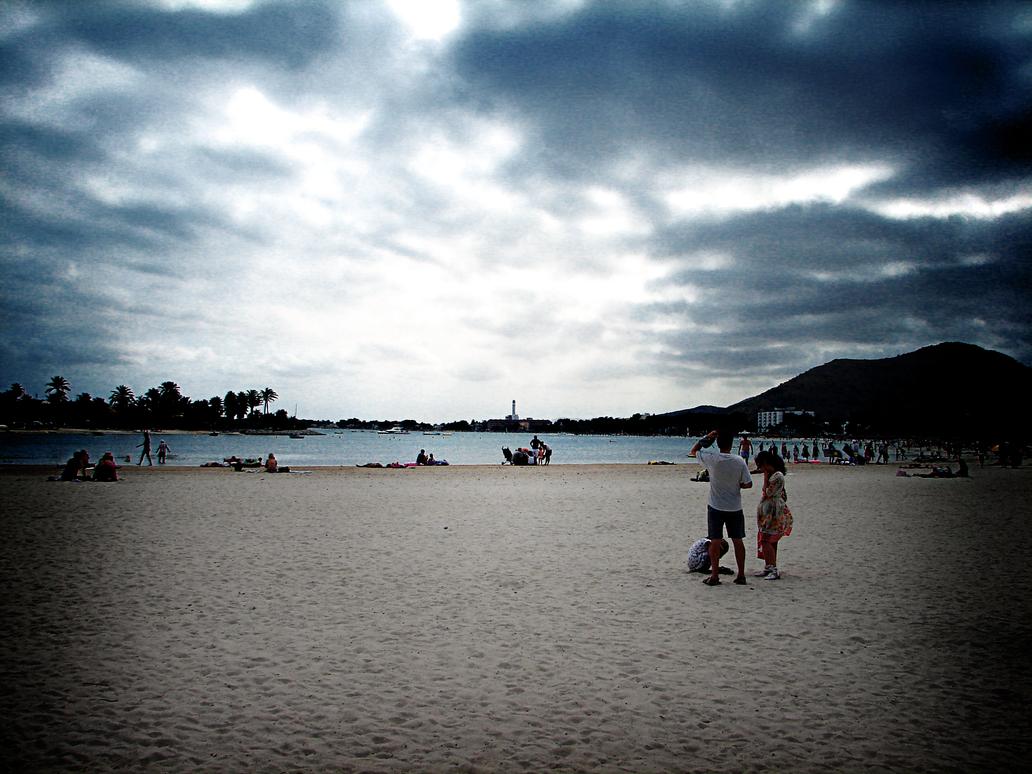 The Beach - HDR by OMaximus