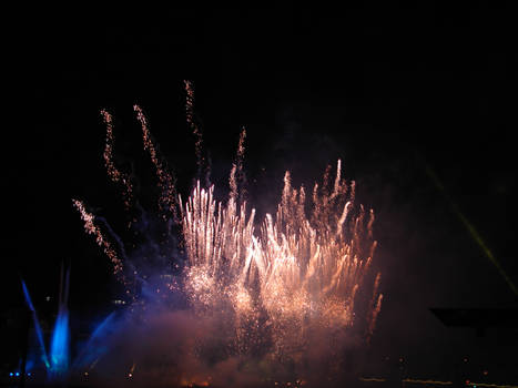 The rising Fireworks