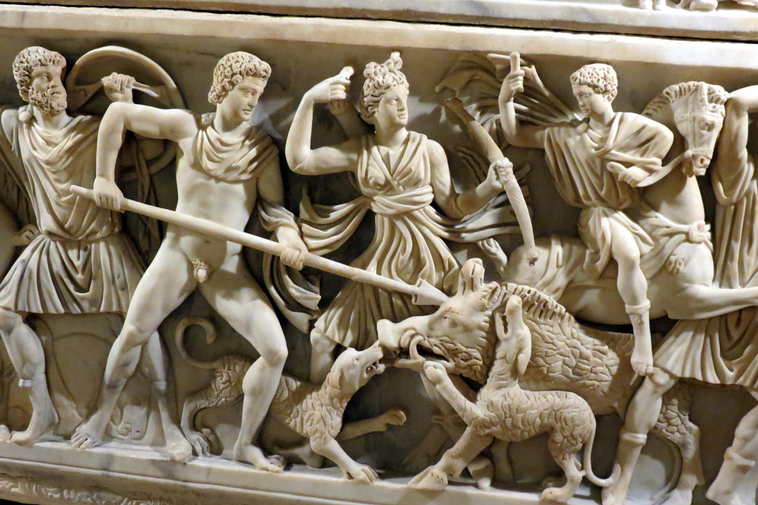 wild boar hunting ... Rome ... by DemonSD