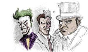 Joker Two Face Penguin