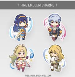 [fire emblem] awakening acrylic cahrms
