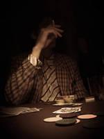 Poker face ... by MOSREDNA