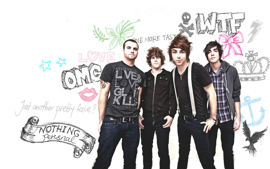 All Time Low WALLPAPER by 02351395