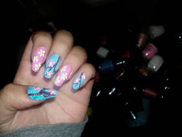 Floral Nail Art by 02351395