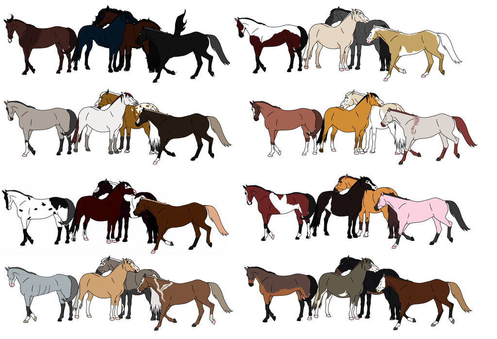 Mystery Horse Herd Adopts Closed By Hayleywolf On Deviantart
