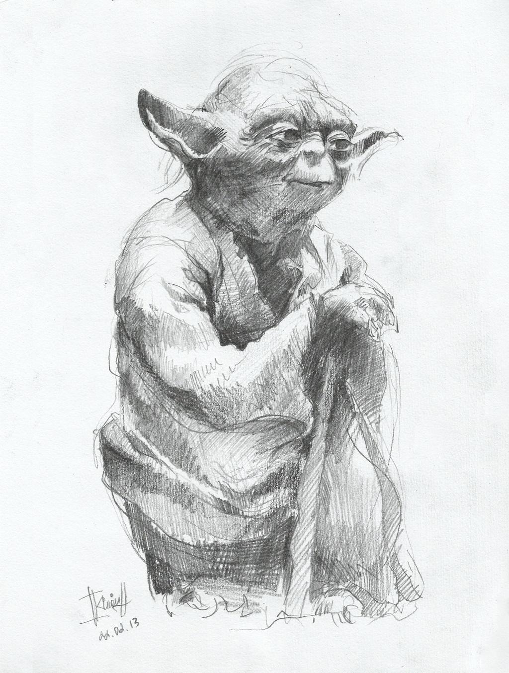 Line Art Yoda : Yoda by kinovich on deviantart