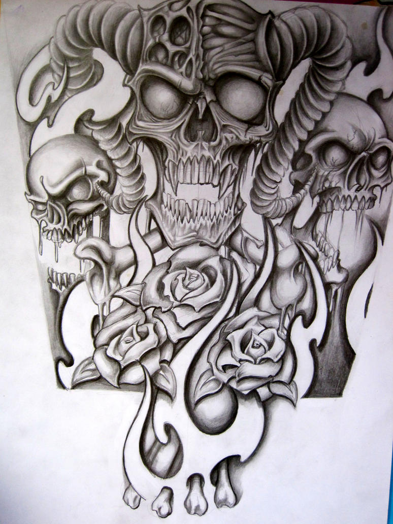Half Sleeve For A Tattoo By Stephcand